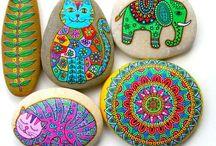 MŠ maľovanie kameňov