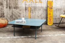 Métal attitude / Voici notre sélection meuble métal. Elle rassemble du mobilier style loft entièrement métallique, de luminaire d'atelier, et des accessoires déco vintage en métal par PIB.