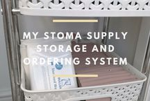 Storage for stoma supplies