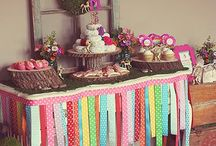 PARTY: dessert table