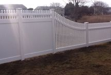 Vinyl Fences / Vinyl Fences installed by A. Anastasio Fence Company, serving Fairfield County, CT.