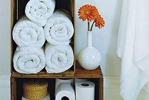Dwell // bathroom. / Bathroom ideas & inspiration / by Mandi Diehl