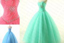 Poofy dresses
