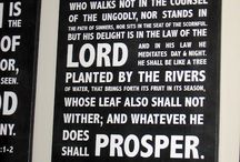 Crafts: Wall Hangings - Scripture / by Patti Stuart