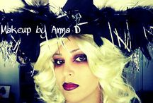 Halloween witch make up