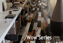 Wood Plank Porcelain Tile - Wow Series