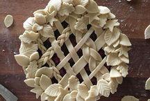 Украшение пирогов