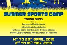 Summer Sports Camp 2016, YMCA / Summer Sports Camp  Youngs Gun