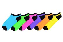 Socks / Colorful low cut socks to match your sports outfits.  Offered by From the Red Tees.