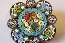 micro mosaic jewelery