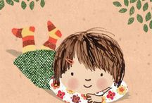 Children Illustration Kinder