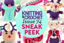 Issue 74 of LGC Knitting & Crochet issue 74 / Issue 74 of LGC Knitting & Crochet magazine, on sale from 28th August to 1st October 2015, comes with six balls of pretty Jingle yarn just for you, including a special shimmer ball. Your special yarn colour pack also comes with 3.75mm crochet hook and bamboo knitting needles so you can make a start on your next project straight away.