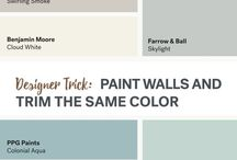 wall paint color chart