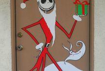 office Christmas decorations ideas