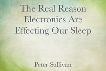 Sleep / Tips to improve sleep.