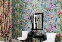 Lounge ideas / Wallpaper
