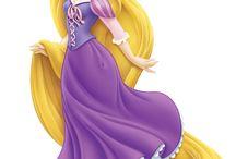temática Rapunzel para josefina.!!!