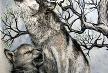 Wolf-Tattoo-Design