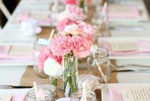 Mariage : Décoration de table