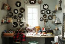 Craft Rooms / by lullubee Crafts