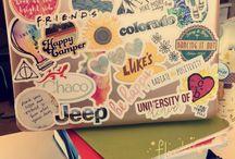 diy laptop decor