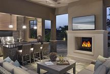 Outdoor Covered Entertainment Area