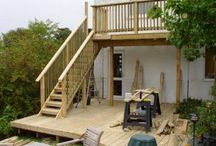 Raised decking ideas
