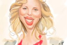 Caricatures / by Connie W