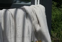 Summer Linens - Sommer Bettwaesche / A collection of pure linen bedding for summer