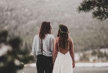 Boho wed