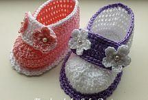 Crochet booties patterns