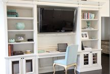 Master bedroom office combos