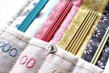 Knitting Needle Organizer