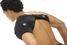 Shoulder Ice Wrap and Shoulder Heat Wrap / Complete shoulder therapy solution, shoulder ice wrap and a shoulder heat wrap all-in-one! Designed for injury specific adjustable and full freedom of movement. Total comfort for any size shoulder, big or small. Just slip it on and start treating! Shoulder system is a fited shoulder ice wrap on the market! Unique rotator cuff strap design drives the cold to where you need it.  If you like this you can purchase at http://woodbats4sale.com/Active_ware_Compress/Active_Ware_Shoulder_Ice.html