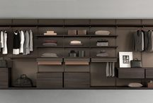 Open wardrobe