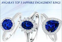 Angara's Top 3 Sapphire Engagement Rings