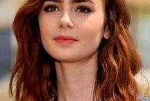 Καστανοκόκκινα μαλλιά