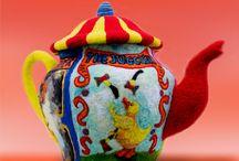 Sterke verhalen / High tea van vilt