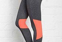 Paneled pants