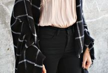 black pants / wear