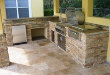 Outdoor Kitchens / Images of The BBQ Depot recently completed Custom Outdoor Kitchen and grill installation projects.