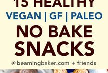 Vegan No bake snacks/sweets