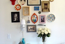 Art Walls / Ideas, inspiration and top tips for creating the perfectly curated art wall.