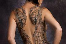 full back tattoos for women
