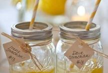 WEDDING COCKTAILS / Signature wedding cocktail