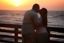 Bob Hall Pier in the Morning / Engagement shoots at sunrise at the Bob Hall Pier on North Padre Island, Texas • Padre Ryan Photographic, Corpus Christi, TX