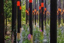 Interactive Garden Sculpture