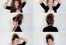 Hair Tip & Tricks  / Hair tutorials and tip and tricks
