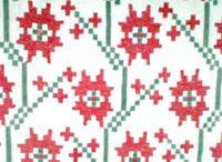 Rushnyk / Antique Ukrainian Folk Textile:  Rushnyk, Рушник