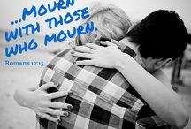 Grief - Encourage Your Spouse in Sadness / How do you encourage your spouse when they're sad?  Mourn with those who mourn... (Romans 12:15